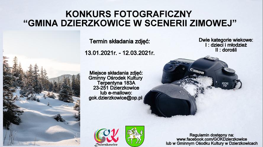 Zimowy konkurs fotograficzny