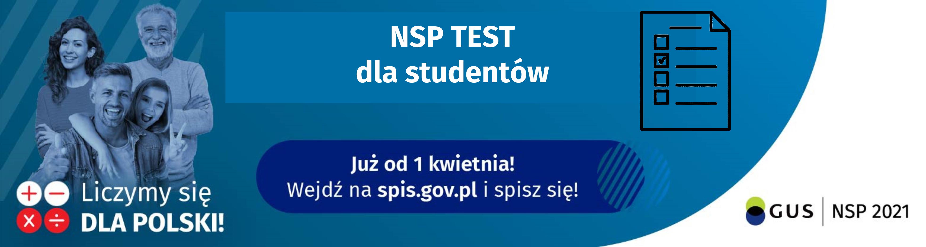 NSP test dla studentów