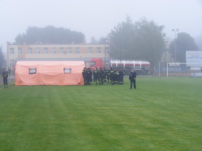 Powiatowe Zawody Sportowo-Pożarnicze Drużyn OSP Dzierzkowice 25.09.2016r.
