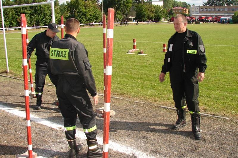 Powiatowe Zawody Sportowo-Pożarnicze Dzierzkowice 2007r.