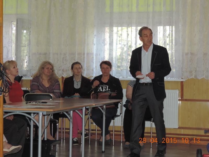 Rymy, rytmi i rysunki - eliminacje gminne 2015