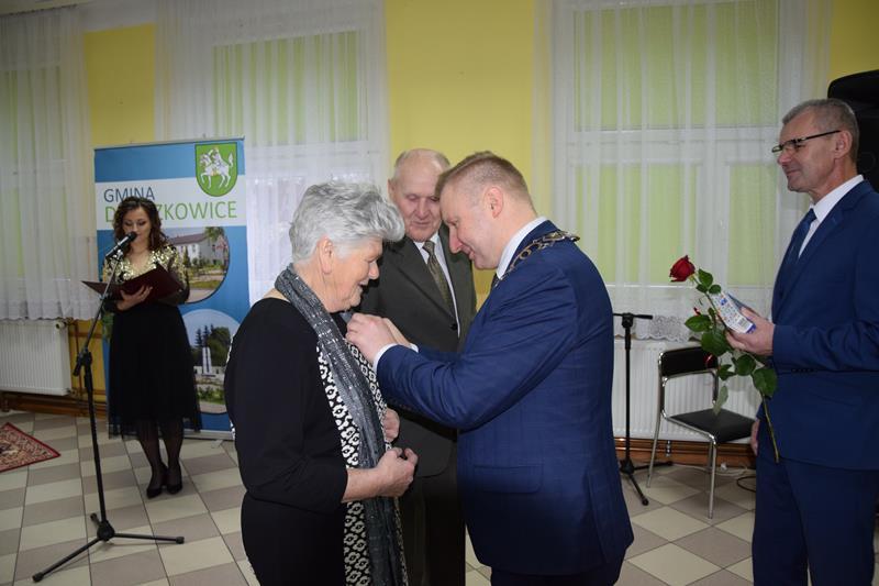 Uroczystość 50-lecia pożycia małżeńskiego 2019r.